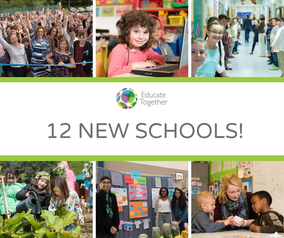 12 new schools