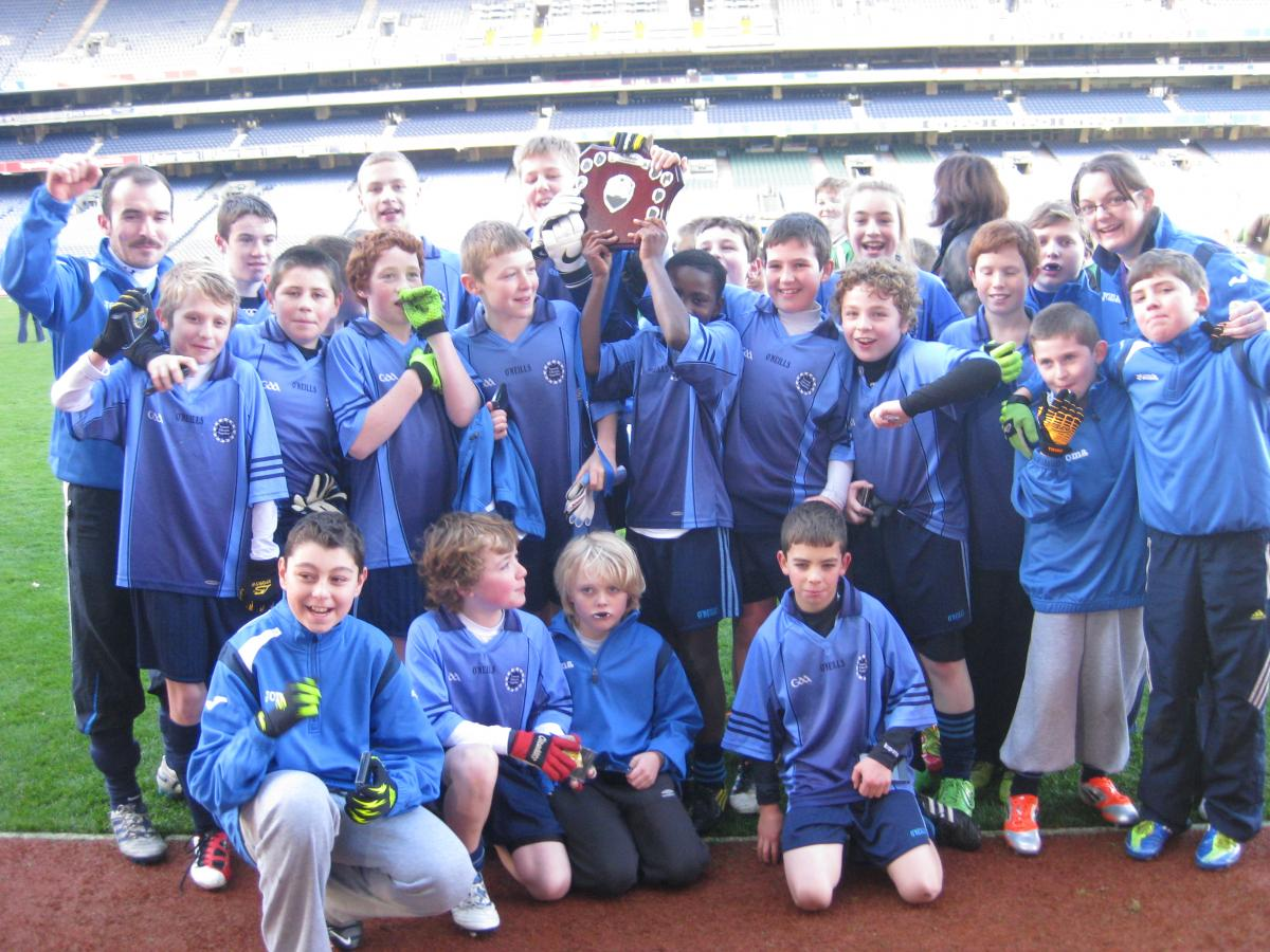Swords Educate Together NS Senior GAA team
