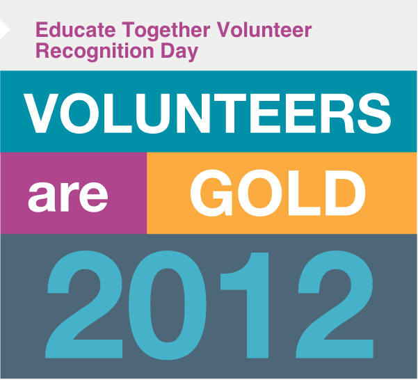Educate Together Volunteer Recognition Day